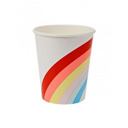 Rainbow Ποτήρι 12τμχ - ΚΩΔ:143695-JP