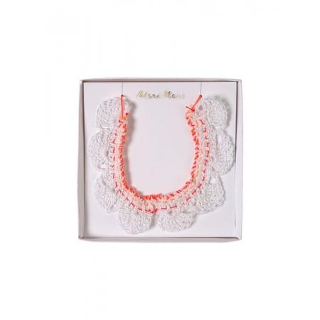 Crochet Colar Κολιέ - ΚΩΔ:50-0193-JP