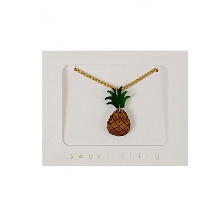 Pineapple Κολιέ - ΚΩΔ:134497-JP