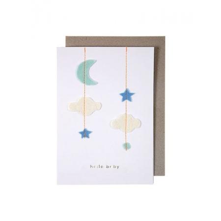 Hello Baby Ευχετήρια Κάρτα - ΚΩΔ:159409-JP