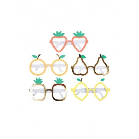 Χάρτινα Γυαλιά Φρούτα - ΚΩΔ:156331-JP