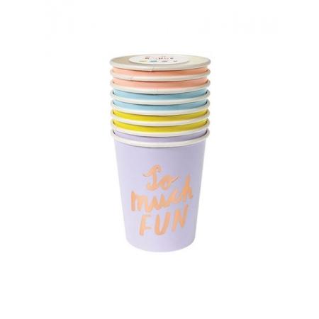 Ποτήρια so much fun διάφορα χρώματα - ΚΩΔ:156421-JP