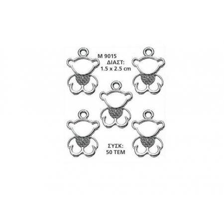 ΜΕΤΑΛΛΙΚΟ ΔΙΑΚΟΣΜΗΤΙΚΟ ΑΡΚΟΥΔΑΚΙ 1.5Χ2.5 ΕΚΑΤ. - ΚΩΔ:M9015-AD
