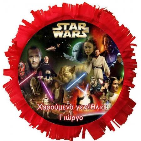 ΧΕΙΡΟΠΟΙΗΤΗ ΠΙΝΙΑΤΑ STAR WARS 40X40CM - ΚΩΔ:553153-35-BB