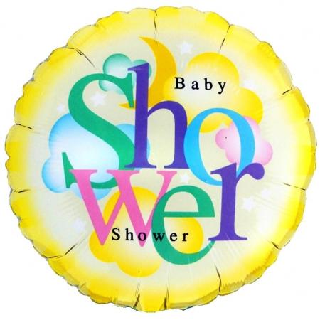 ΜΠΑΛΟΝΙ FOIL 45cm ΓΙΑ ΓΕΝΝΗΣΗ BABY SHOWER  – ΚΩΔ.:78170-BB