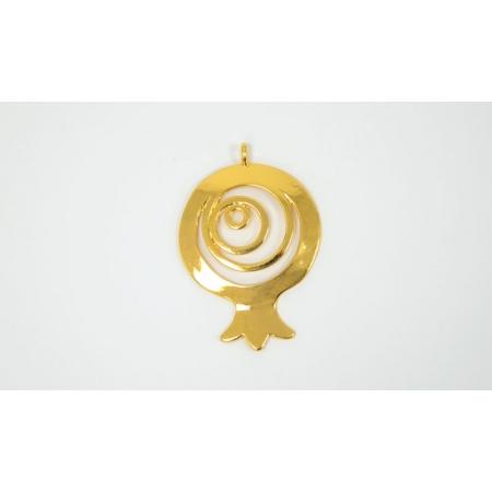 ΜΕΤΑΛΛΙΚΟ ΡΟΔΙ ΣΠΙΡΑΛ 5cm - ΚΩΔ:517873