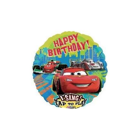 ΜΠΑΛΟΝΙ FOIL 71cm CARS DISNEY SING-A-TUNE – ΚΩΔ.:522312-BB