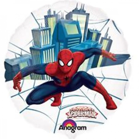 ΜΠΑΛΟΝΙ FOIL 66cm SPIDERMAN SEE THRU - ΚΩΔ.:526225-BB