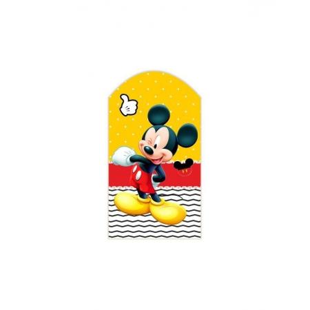 ΞΥΛΙΝΟ ΔΙΑΚΟΣΜΗΤΙΚΟ ΚΑΔΡΑΚΙ MICKEY MOUSE ΓΙΑ ΠΑΣΧΑΛΙΝΗ ΛΑΜΠΑΔΑ - ΚΩΔ:D16001-34-BB
