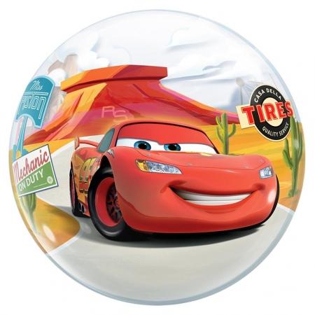 """ΜΠΑΛΟΝΙ FOIL 22""""(56cm) CARS MCQUEEN Bubble – ΚΩΔ.:10185-BB"""