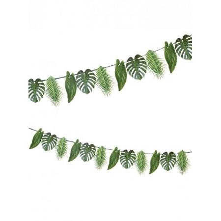 Γιρλάντα με Τροπικά Φυλλώματα Palm Leaf - ΚΩΔ:FST6-GARLAND-PALM-JP