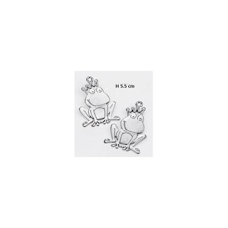 ΜΕΤΑΛΛΙΚΑ ΔΙΑΚΟΣΜΗΤΙΚΑ ΓΙΑ ΜΠΟΜΠΟΝΙΕΡΕΣ - ΠΡΙΓΚΙΠΑΣ ΒΑΤΡΑΧΟΣ - ΚΩΔ:  M5309