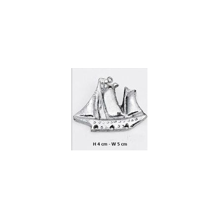 ΜΕΤΑΛΛΙΚΑ ΔΙΑΚΟΣΜΗΤΙΚΑ ΓΙΑ ΜΠΟΜΠΟΝΙΕΡΕΣ - ΚΑΡΑΒΙ - ΘΑΛΑΣΣΑ - ΚΩΔ:  M5392