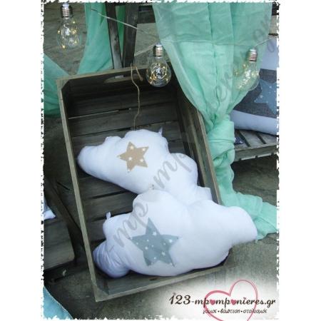 """ΣΤΟΛΙΣΜΟΣ ΒΑΠΤΙΣΗΣ ΑΣΤΕΡΑΚΙ """"LITTLE STAR"""" - ΑΓΙΑΣΜΑ ΕΥΚΑΡΠΙΑΣ - ΚΩΔ:ENG-942"""