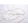 Στεφανα Γαμου Χειροποιητα Με Πλεξη Μακραμε Και Περλες - Λευκο - Σετ - ΚΩΔ:Ft04-123