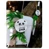 ΣΕΤ ΒΑΠΤΙΣΗΣ ΒΑΛΙΤΣΑ ΚΑΙ ΛΑΜΠΑΔΑ PANDA TROPICAL - ΚΩΔ:PANDA-SET-123