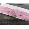 Κορδελα Μαλλιων Παιδικη Ροζ Δαντελα Με Λουλουδια - ΚΩΔ:9267-R-May