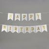 ΓΙΡΛΑΝΤΑ-BANNER HAPPY BIRTHDAY ΣΕ ΡΟΖ-ΧΡΥΣΟ-ΣΙΕΛ - ΚΩΔ:NK421-NU
