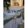 Στολισμος Γαμου Εκκλησιας Σε Ασημι Και Λευκο ΚΩΔ: Bk-22