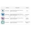 Κεραμική Χάντρα Σταυρός Μάτι Περαστό με Σμάλτο 12mm (Ø3mm) - ΚΩΔ:A983-NG