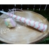 Μπομπονιέρα Βάπτισης Βαβουζέλες Σε 3 Σχέδια - Ροζ - ΚΩΔ:Mpo-04999