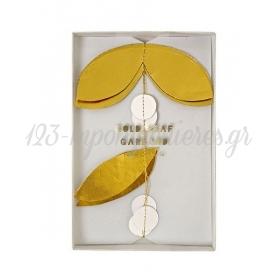 Γιρλάντα με χρυσά φύλλα - ΚΩΔ:45-1972-JP