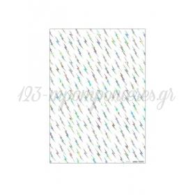 Χαρτί Περιτυλίγματος Silver Flash - ΚΩΔ:147718-JP
