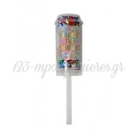 Confetti Popper Πολύχρωμο - ΚΩΔ:151867-JP