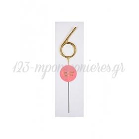 Σπινθηροβόλο Κερί 6 - ΚΩΔ:156124-JP