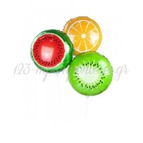 Μπαλόνια Foil Καλοκαιρινά Φρούτα - ΚΩΔ:ALL-FRUITBALL-JP