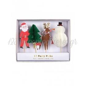 Διακοσμητικά Sticks Christmas Party - ΚΩΔ:162325-JP