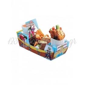 Χάρτινο tray  φαγητού με θέμα τoν πειρατή - ΚΩΔ:1-GS-300-JP