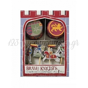 Cupcake kit Ιππότες - ΚΩΔ:108820-JP