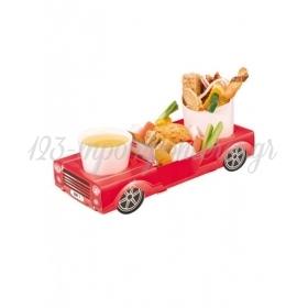 Χάρτινο tray φαγητού Κόκκινο αυτοκίνητο - ΚΩΔ:1-GS-151-JP