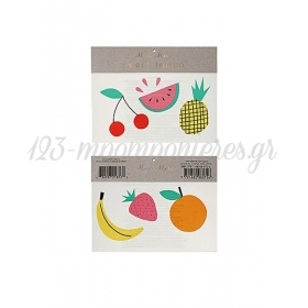 Fruit Τατουάζ 2τμχ - ΚΩΔ:145882-JP