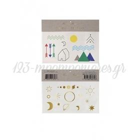 Solar System Τατουάζ 2τμχ - ΚΩΔ:143281-JP