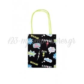 Superhero Tote bag Δώρου 8τμχ - ΚΩΔ:147232-JP