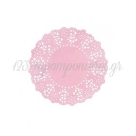 Μίνι Ροζ Διακοσμητικά Χαρτάκια - ΚΩΔ:MIX-DOILY-PK-JP