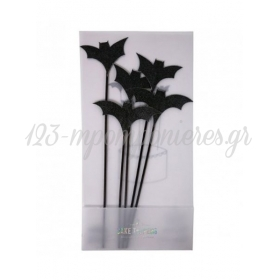 Cake Toppers Νυχτερίδα - ΚΩΔ:45-2398-JP