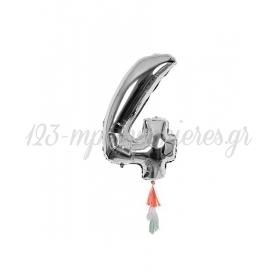 Μεταλλικό Μπαλόνι Νο4 - ΚΩΔ:154495-JP