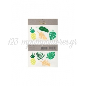 Tropical Leaves Tattoos - ΚΩΔ:159742-JP