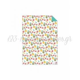 Χαρτί Περιτυλίγματος Fruit - ΚΩΔ:159922-JP