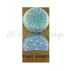 Cupcake cases σιελ σχέδιο Toot Sweet - ΚΩΔ:45-0855-JP