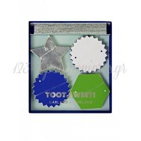 Γιρλάντα mini  TS Blue - ΚΩΔ:45-1219-JP