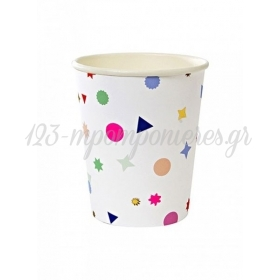 Ποτήρι χάρτινο TS Confetti - ΚΩΔ:124336-JP