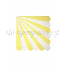 Χαρτοπετσέτα μικρή TS Yellow - ΚΩΔ:125218-JP