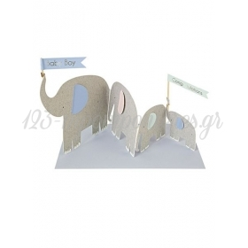 Elephants Card - ΚΩΔ:134191-JP