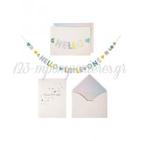 Hello Little One Card - ΚΩΔ:135181-JP