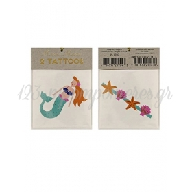 Tattoos γοργόνα & θάλασσα - ΚΩΔ:133291-JP