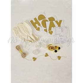 White Balloon Kit (8τεμ) - ΚΩΔ:134425-JP